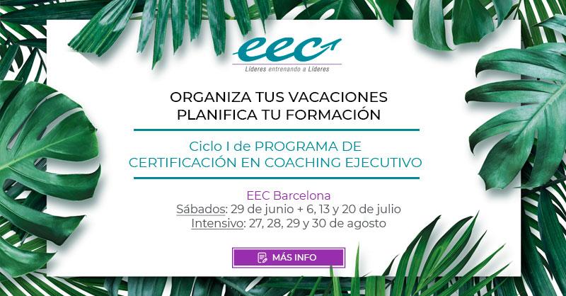 Curso de coaching intensivo barcelona